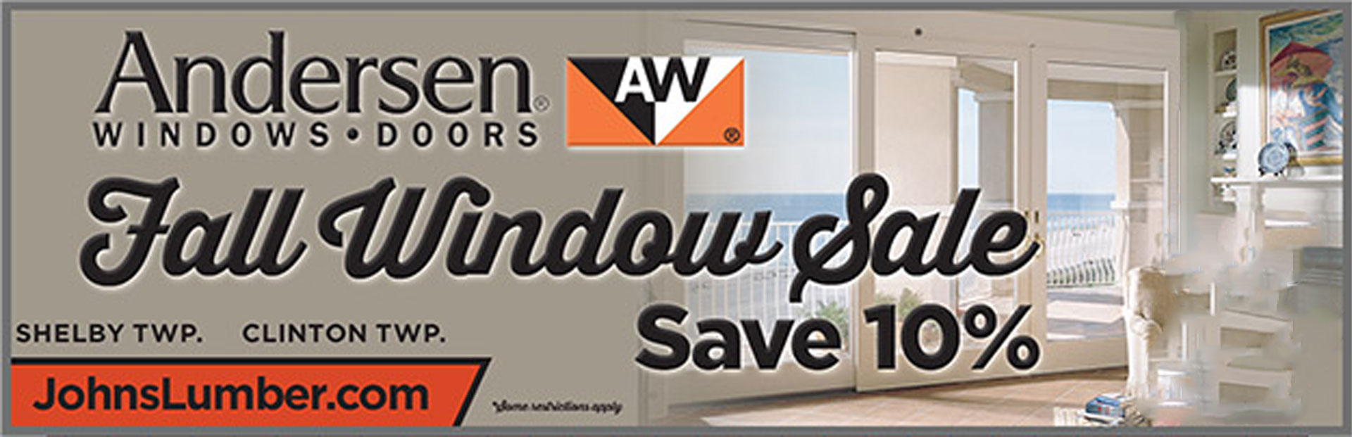 John's Lumber Andersen Window Sale