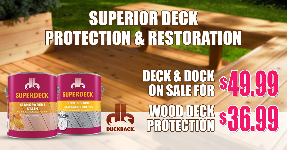 John's Lumber Superdeck Protection and Restoration