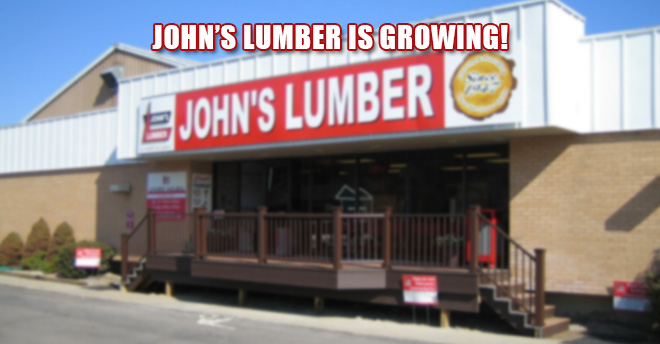 John's Lumber Job Opportunities