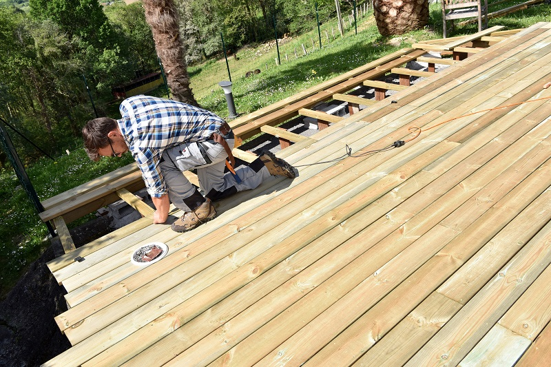 John's Lumber Decking for Your Backyard