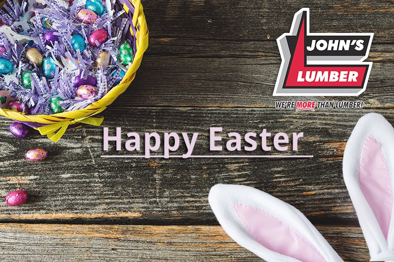 Johns Lumber Easter 2020