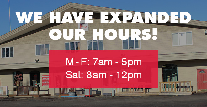 John's Lumber Expanded Our Hours August 2020